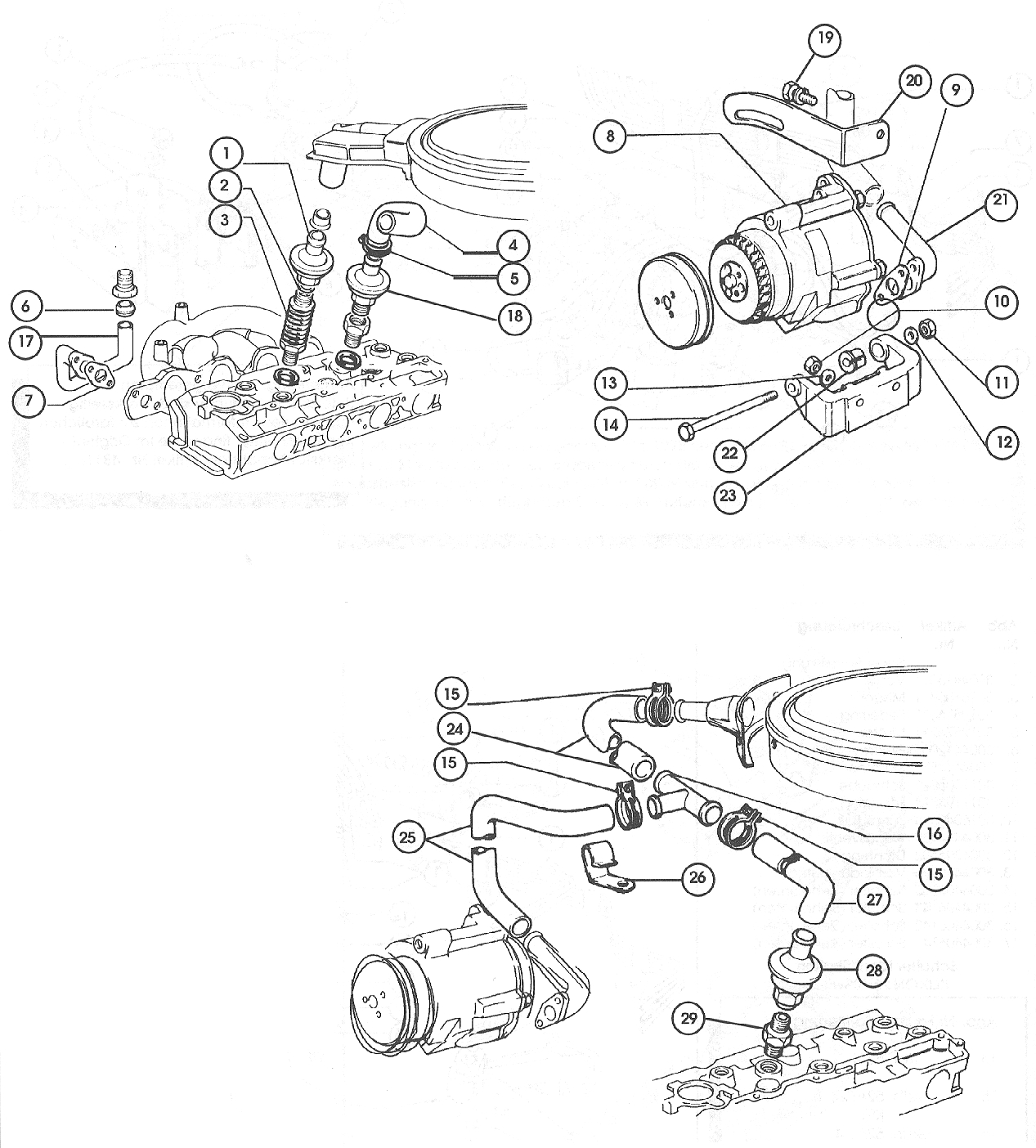 Anti-Pollution System – 1979-80 1995cc. Carb.