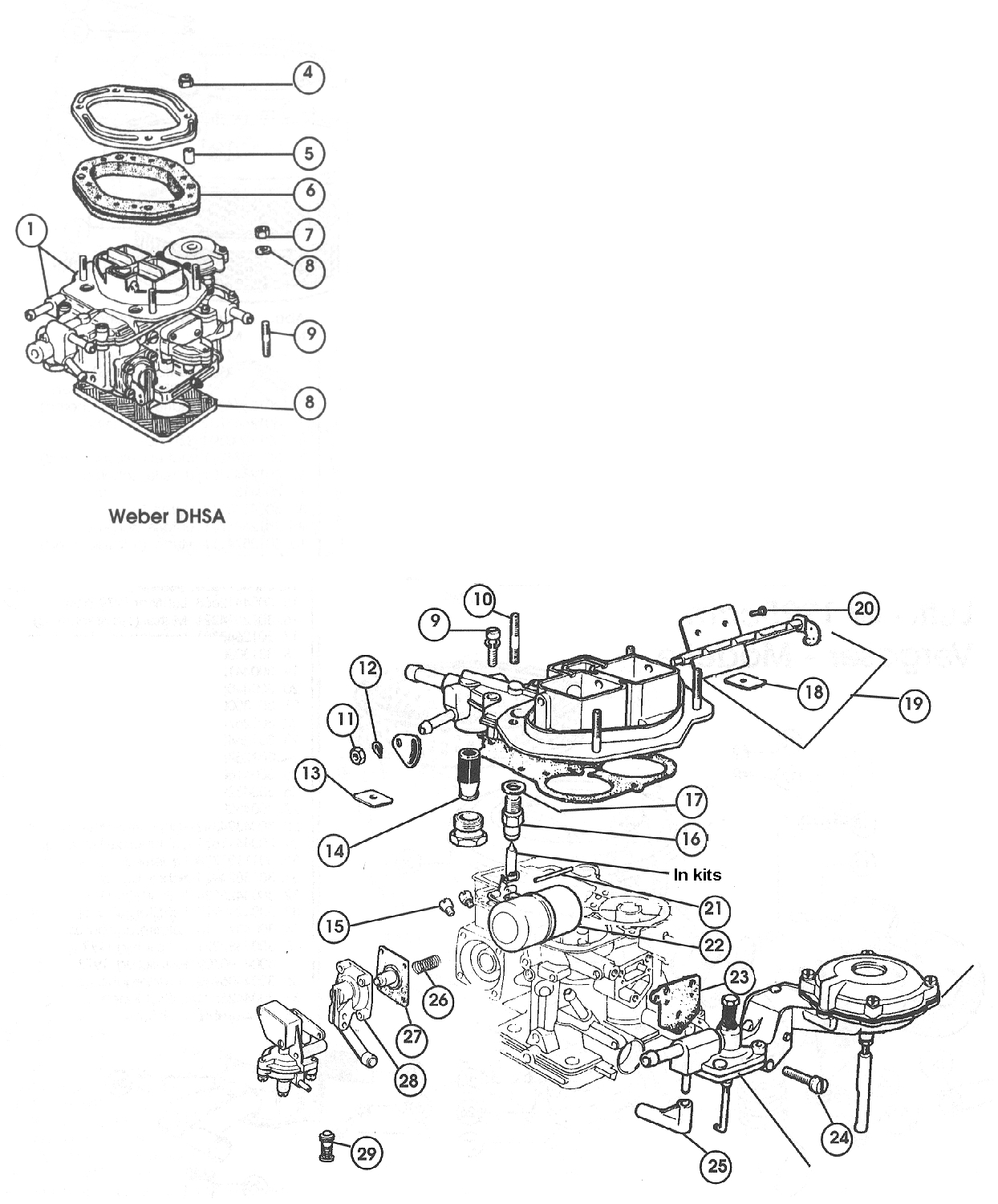 Carburettor – 1966-73