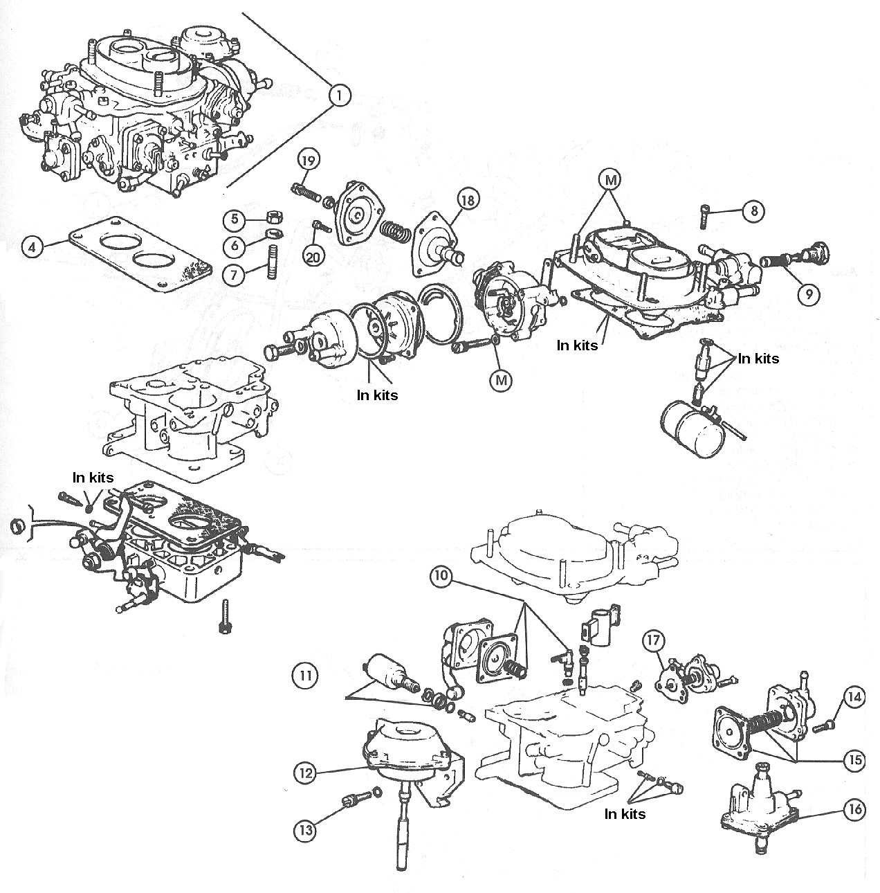 fiat 124 carburettor  u2013 1979