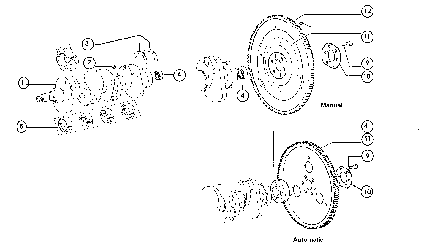 Crankshaft & Flywheel
