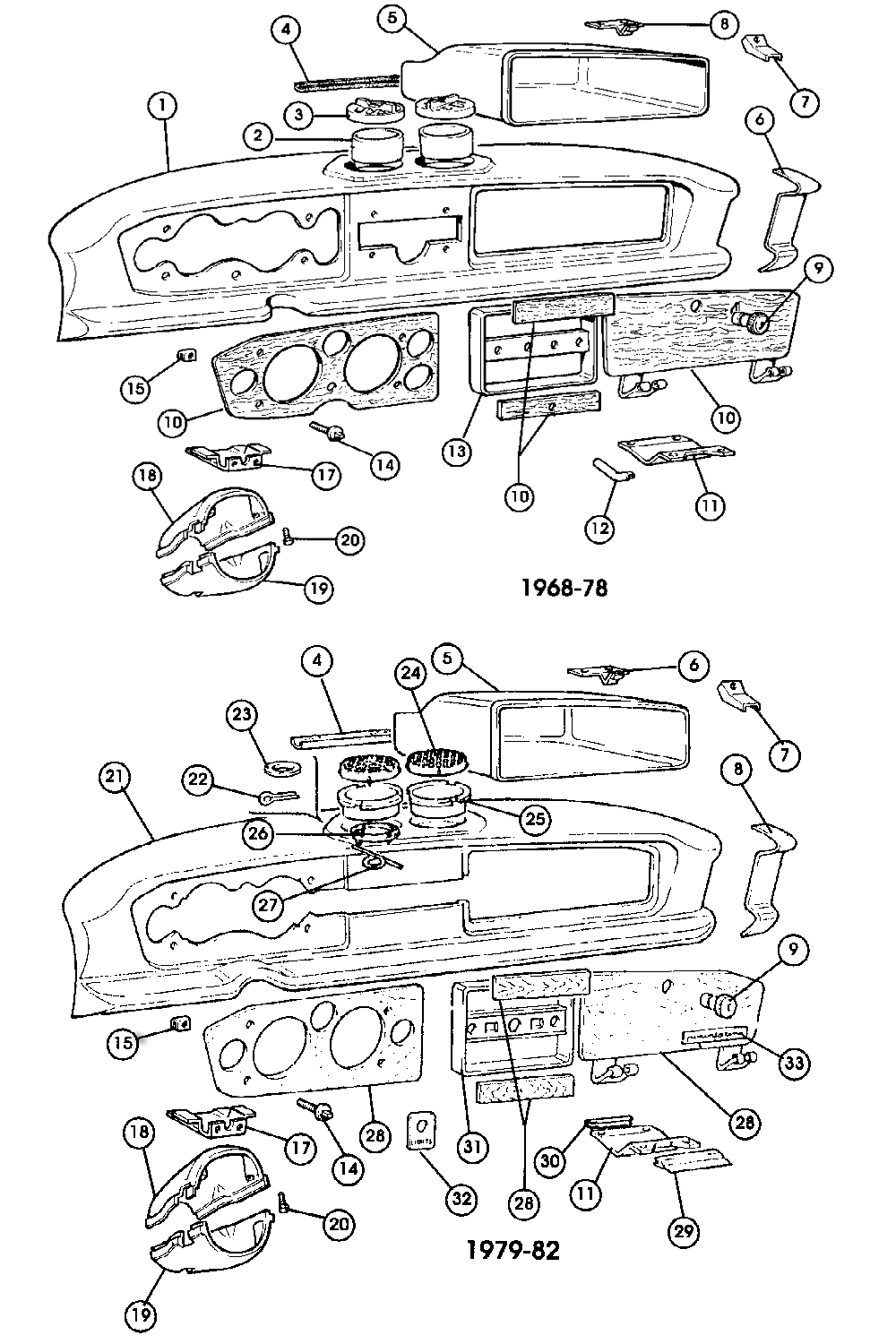 Fiat 131 Wiring Diagram Yto 124 Facia Trim Etc 500 And Classic Abarth Specialists