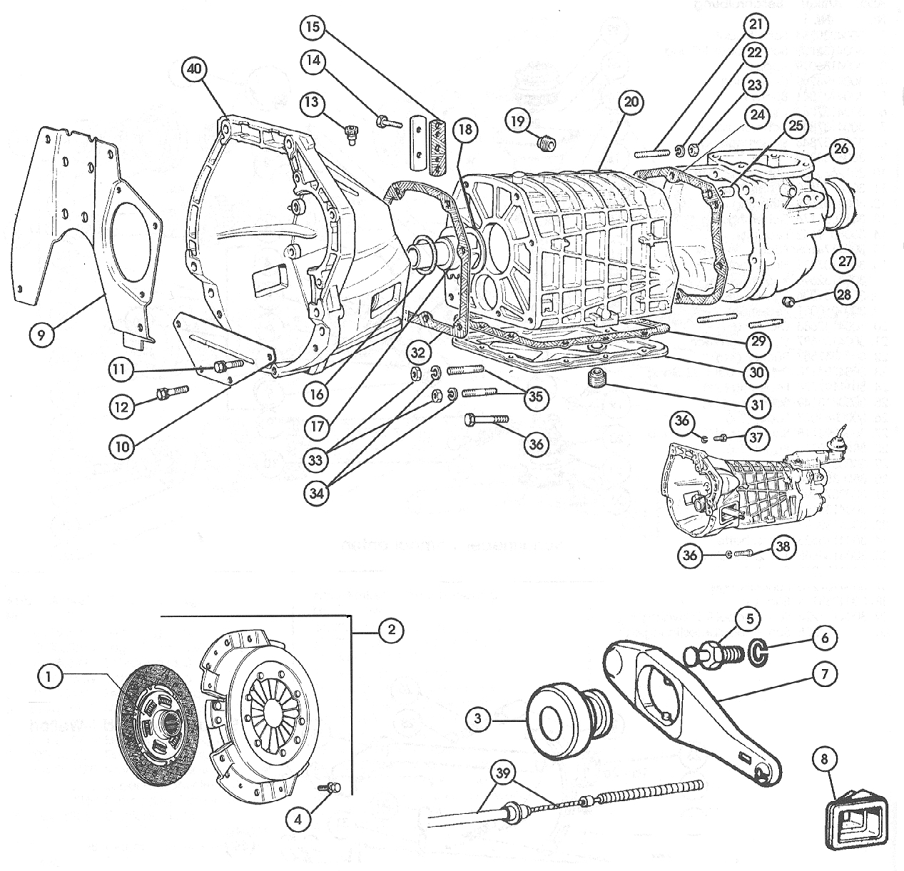 Gearbox, Five Speed Manual Gearbox