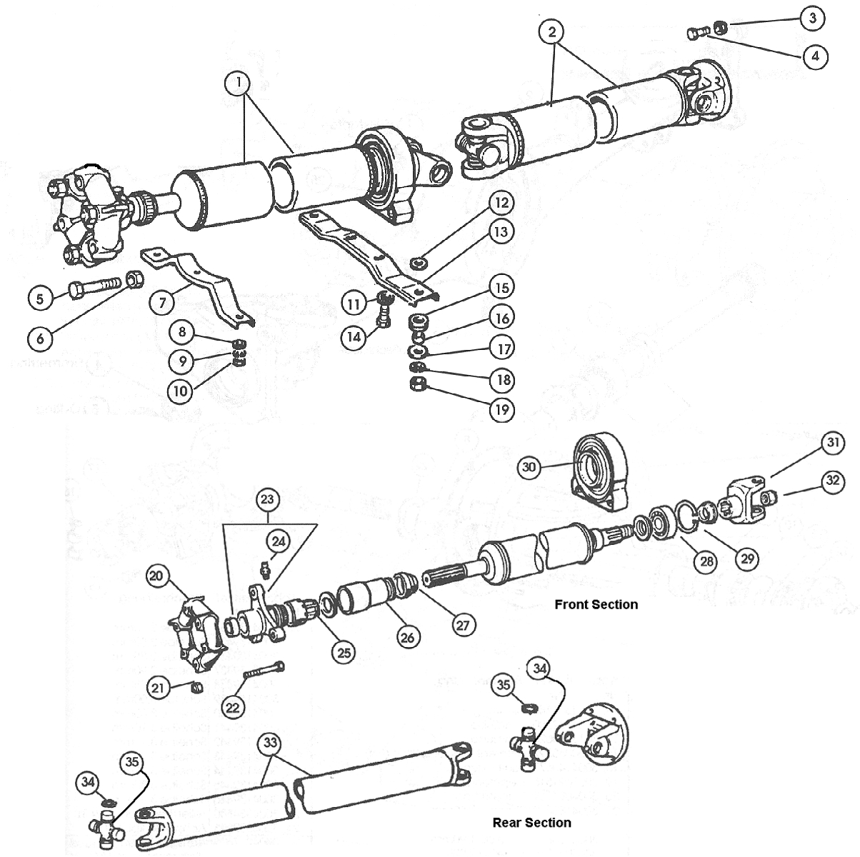 Prop-Shaft – 1968-85