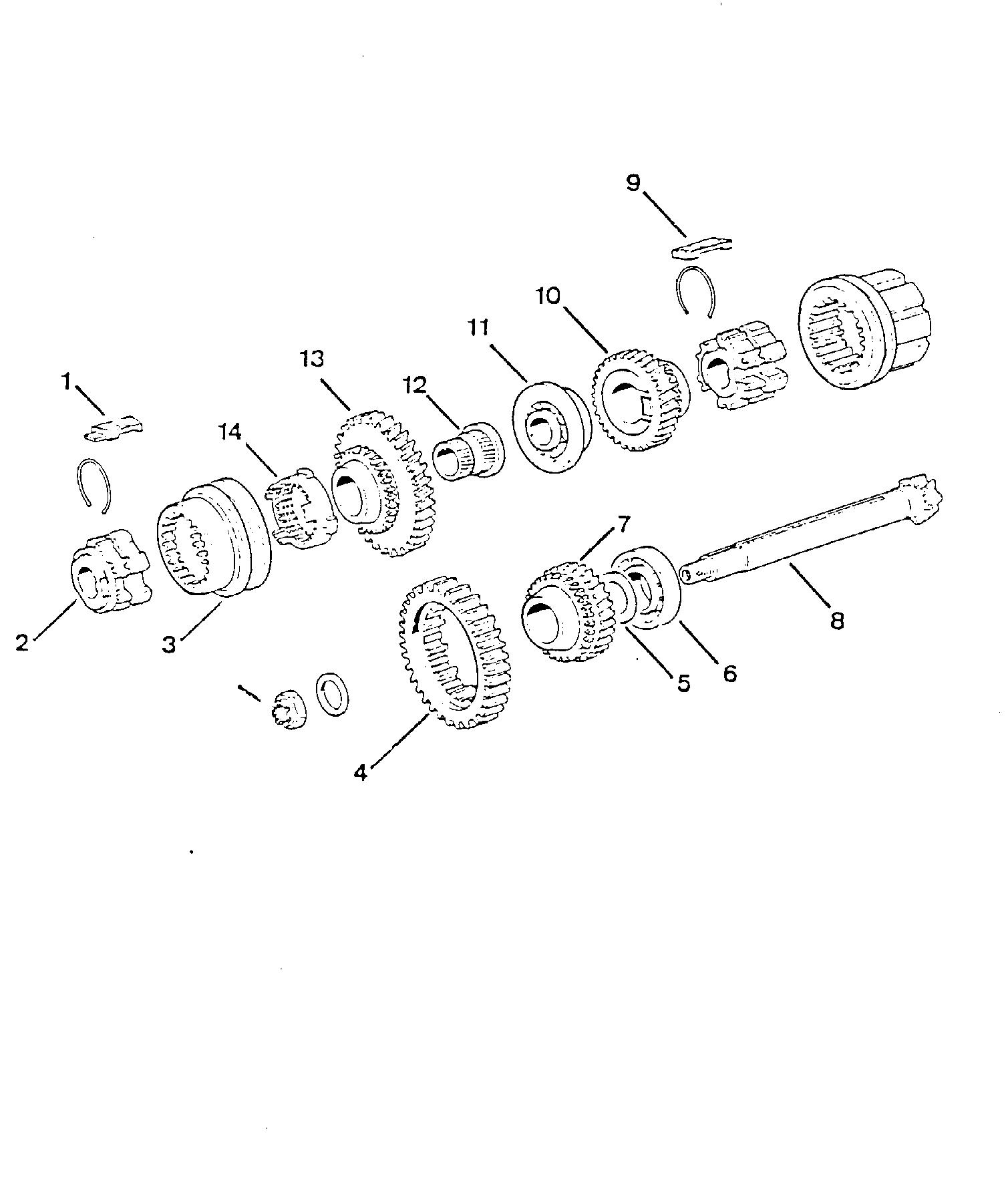 fiat 500 gearbox
