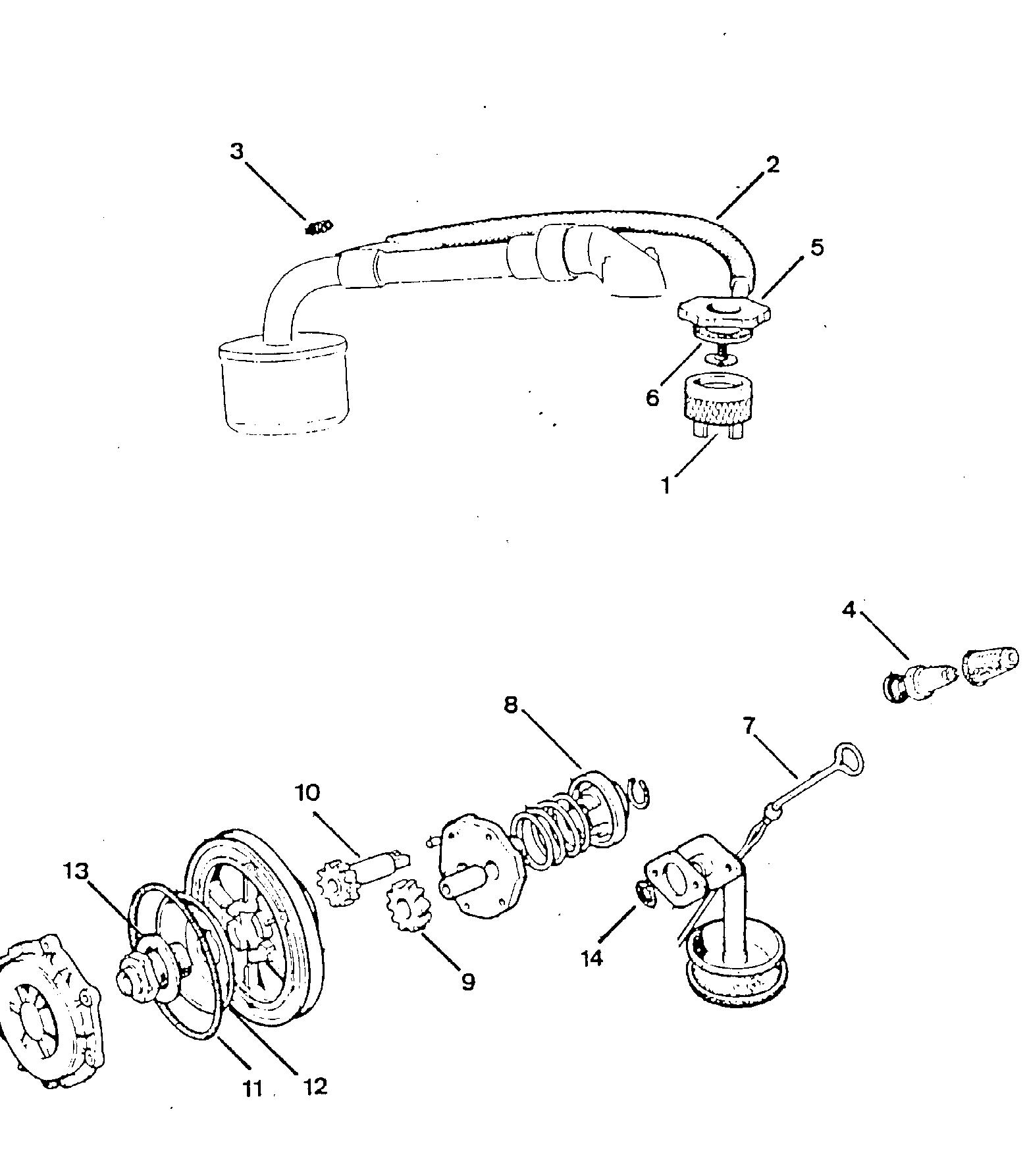 Fiat 500 Oil System