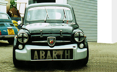 FIAT ABARTH 1000 TC RADIALE GALLERY