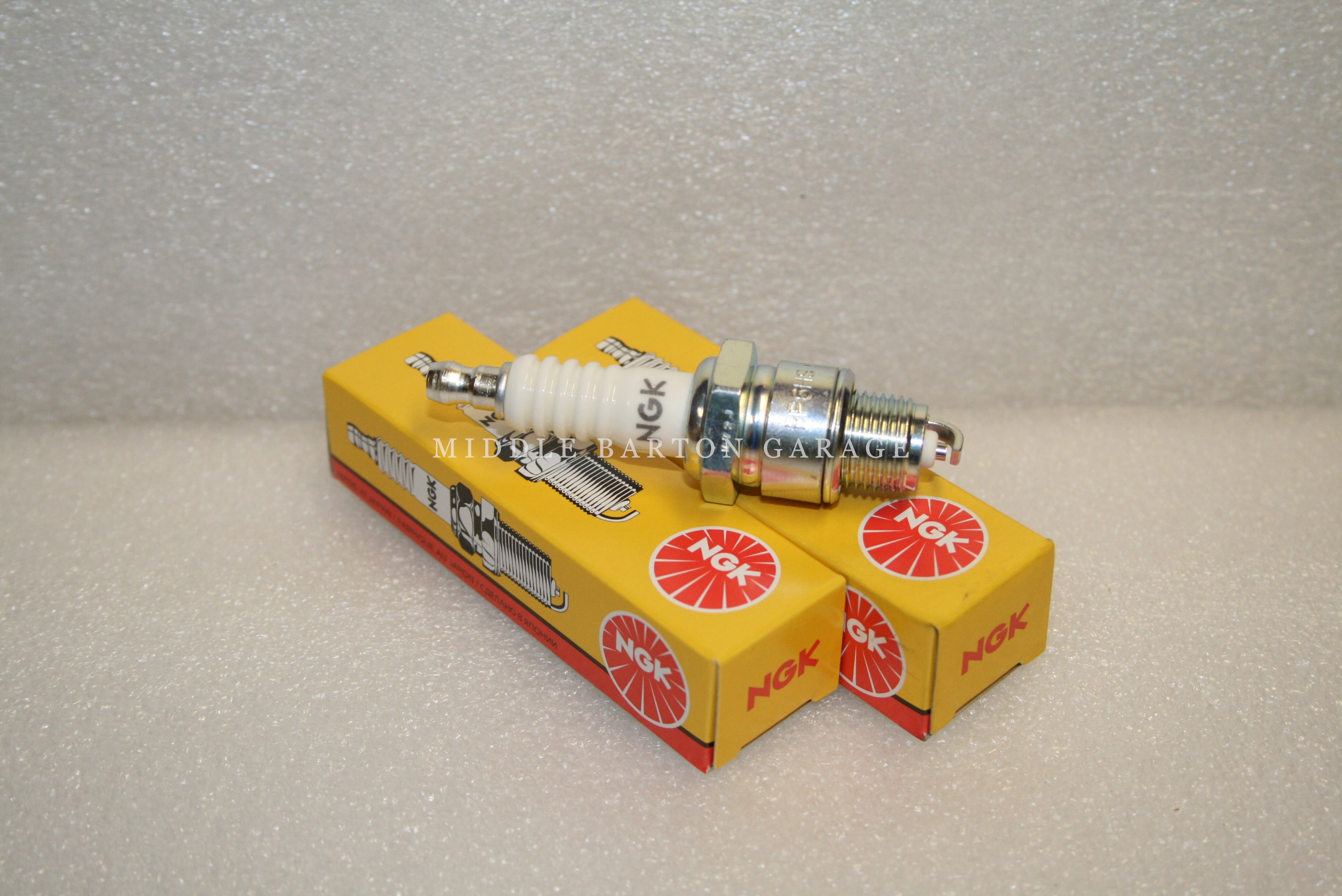 PAIR NGK Spark Plugs
