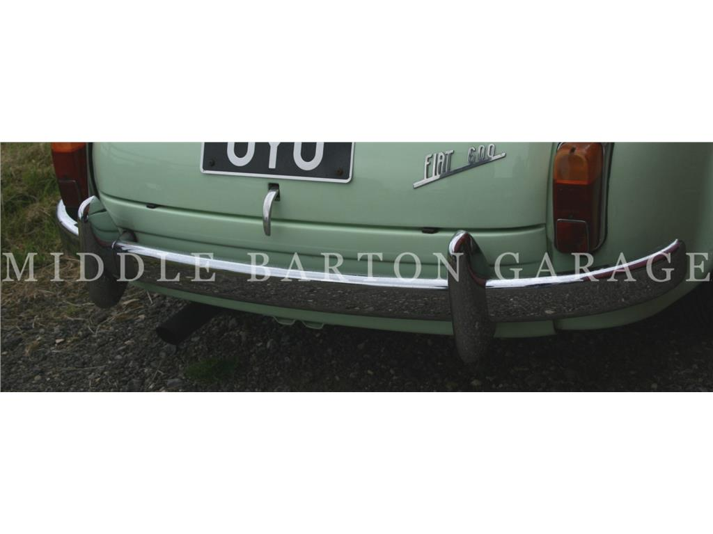 REAR BUMPER 600D - STAINLESS STEEL