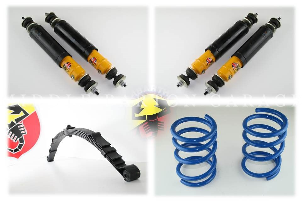 SPORT SUSPENSION KIT FIAT 500 AND ABARTH 595/695