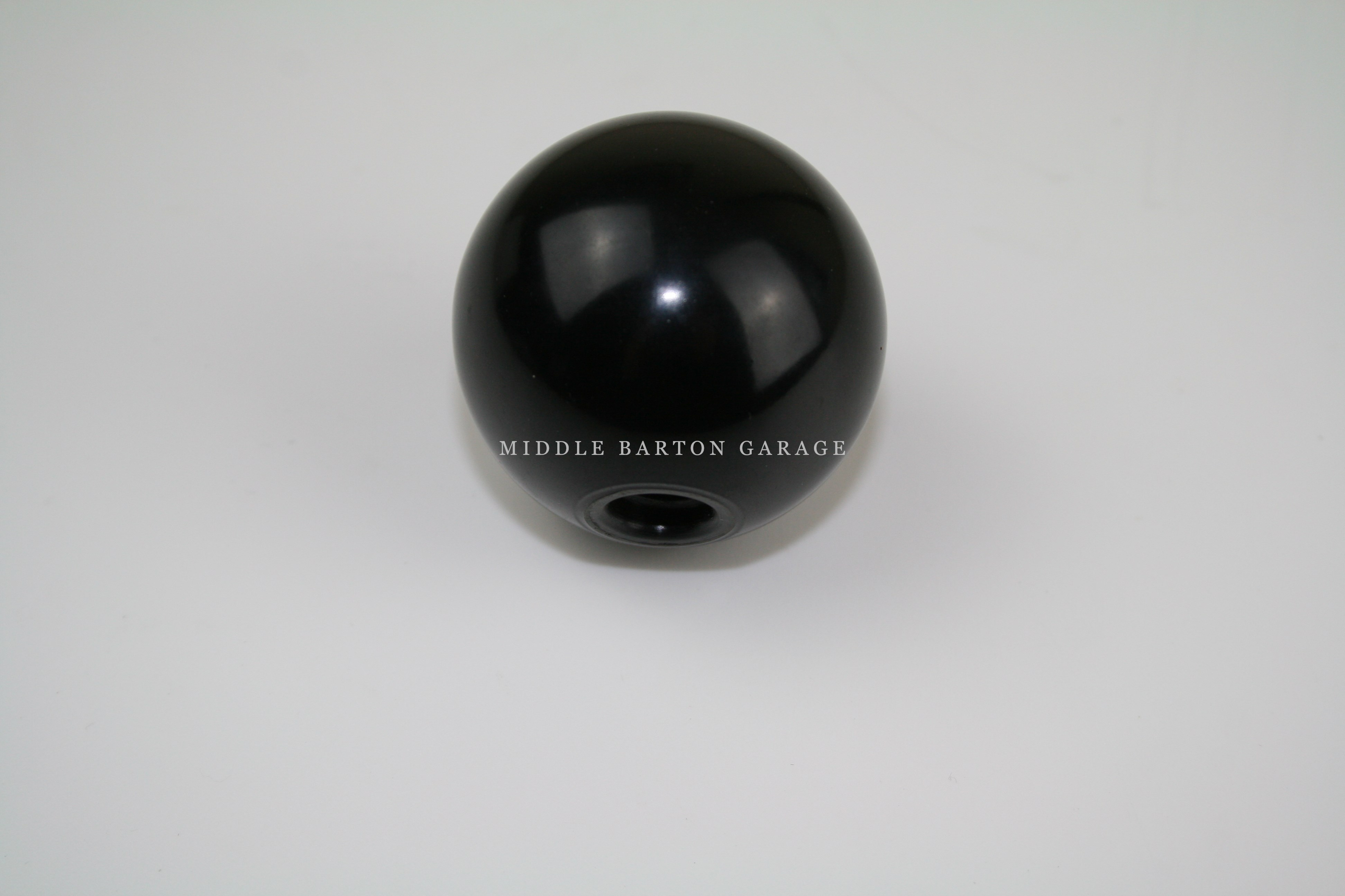 BLACK PLASTIC GEAR STICK KNOB