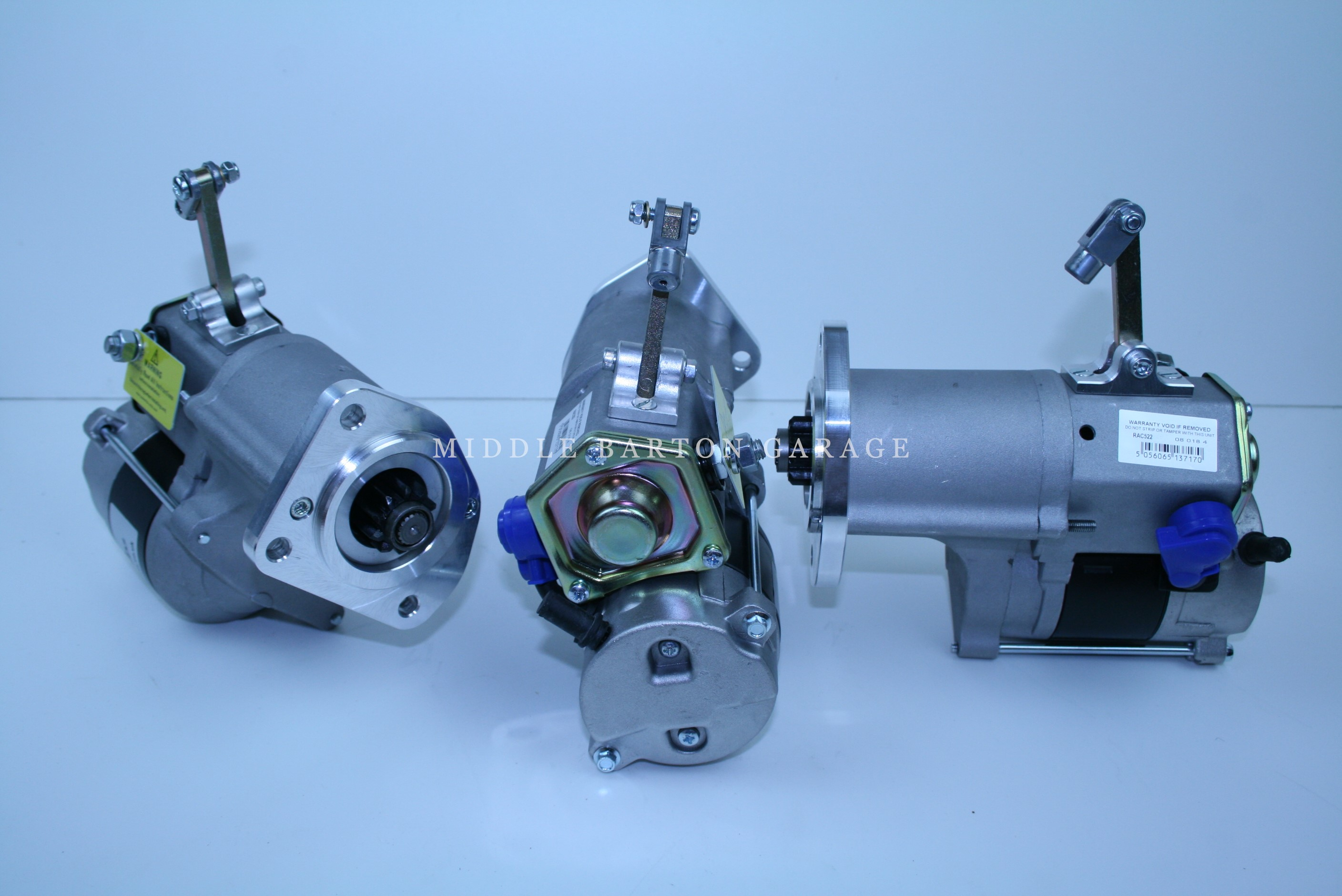 FIAT 500 NEW UP-RATED STARTER MOTOR PULL CABLE STYLE.