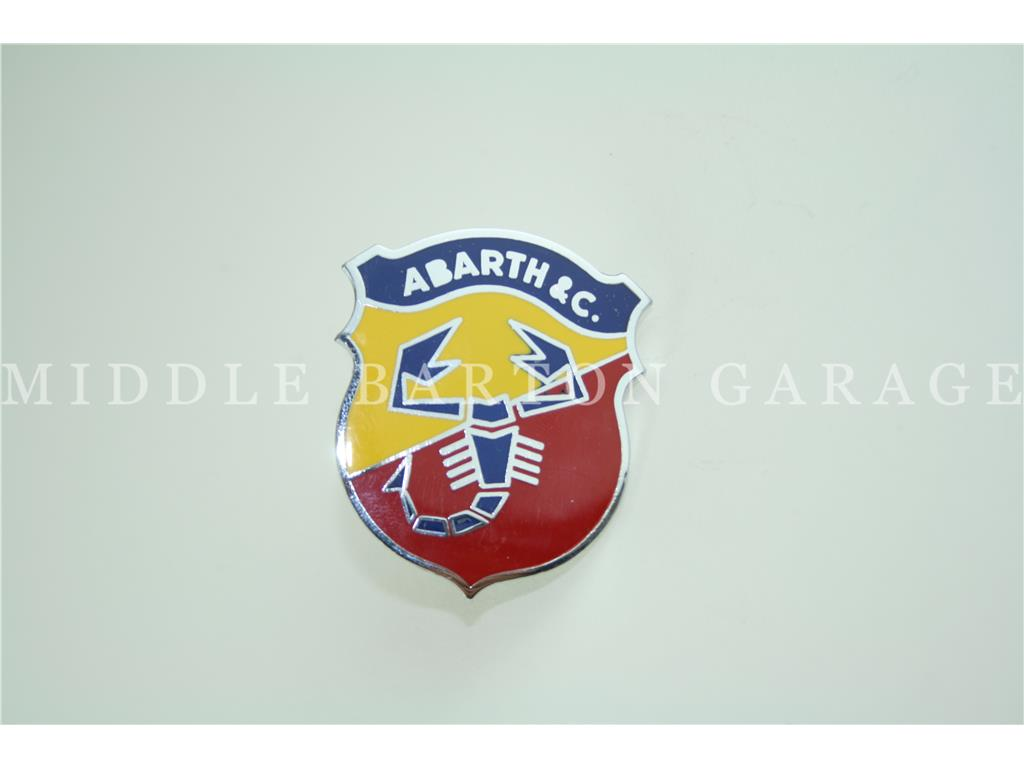ABARTH SHIELD 51mm 124CSA/130TC ENAMEL