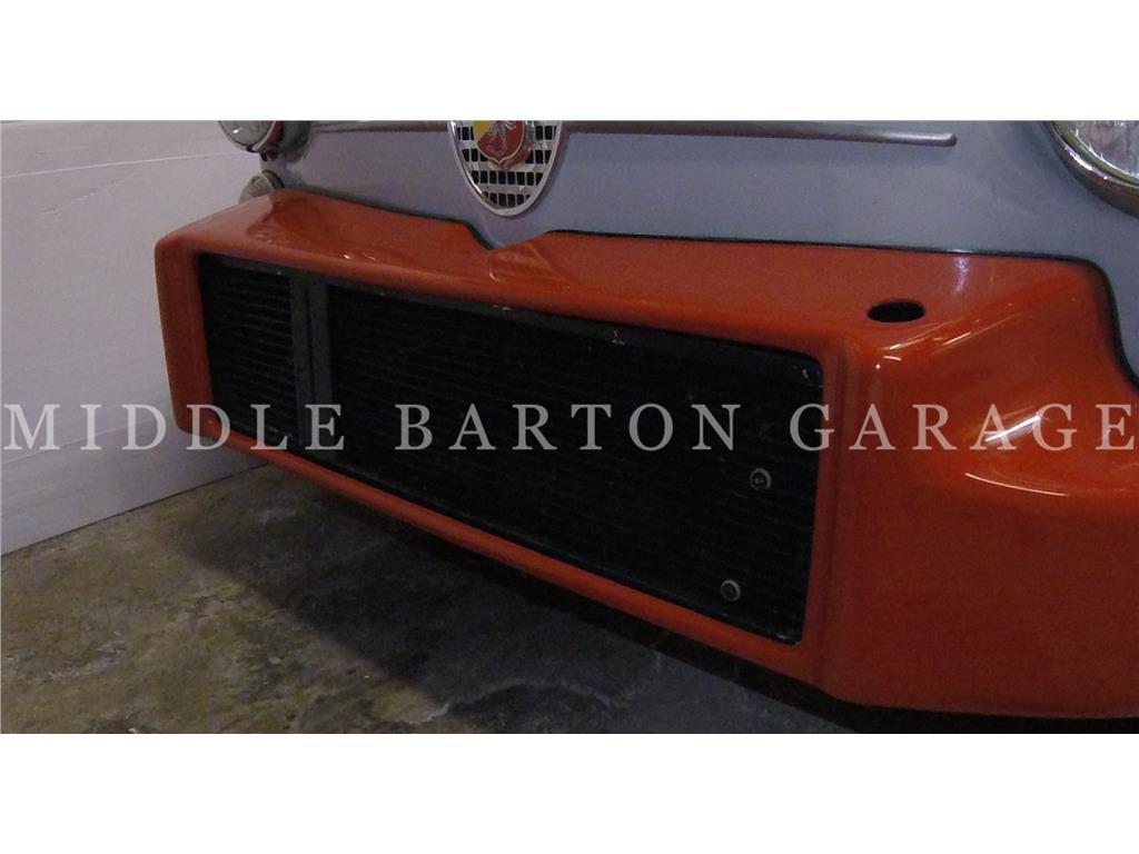 ALLOY RADIATOR FIAT ABARTH WITH OIL COOL
