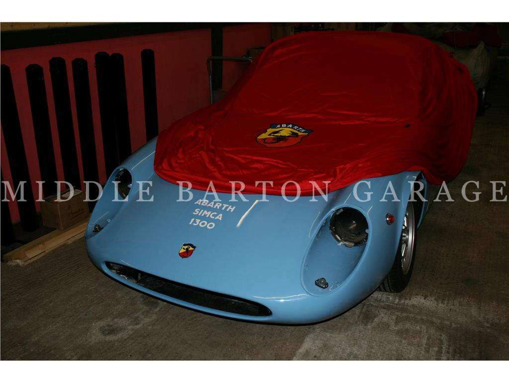 CAR COVER ABARTH SIMCA 2000 CORSA RED