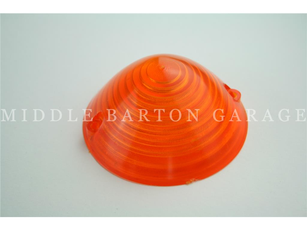 FRONT INDICATOR LENS AMBER 500F/R/600D