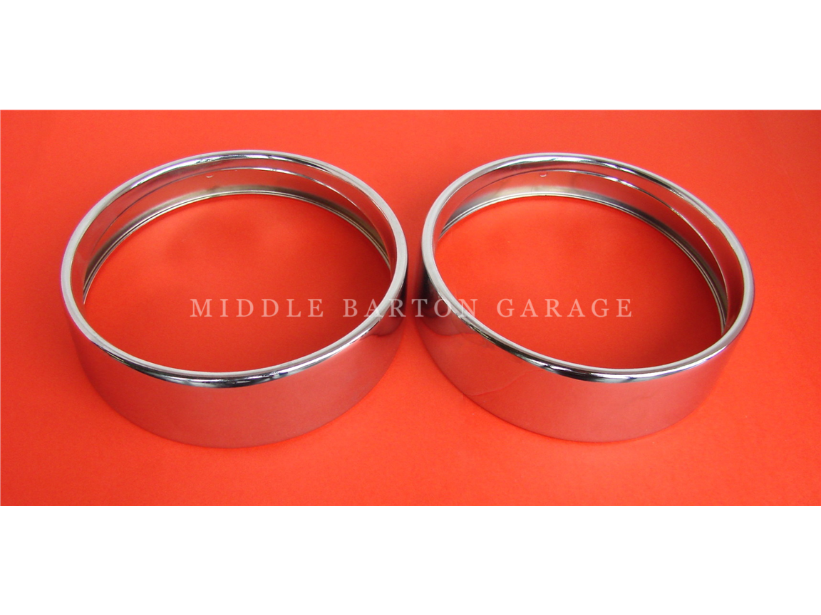 HEADLAMP RIM 500 (CHROME)