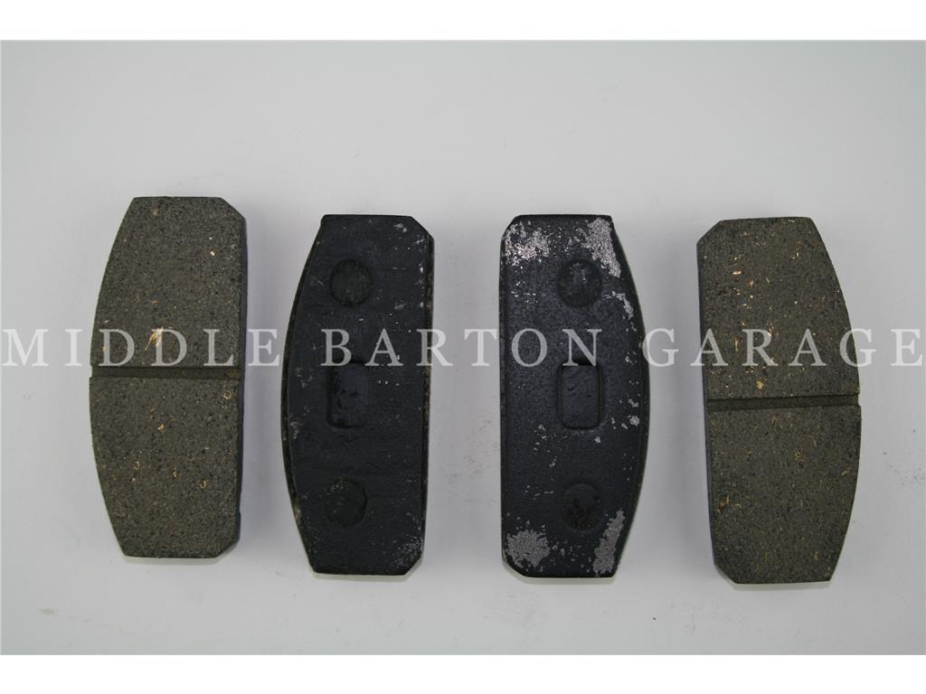 BRAKE PAD SET 850 COUPE TO 1968