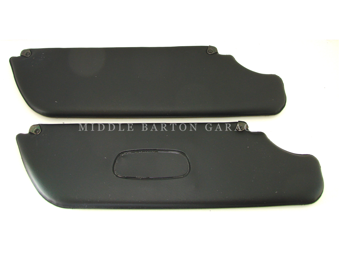 SUNVISOR 124 SPIDER TO 1978 (PAIR) BLACK