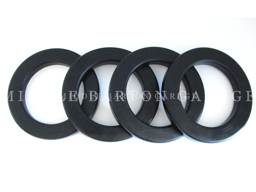 RUBBER RING F. REAR SPRING 600D