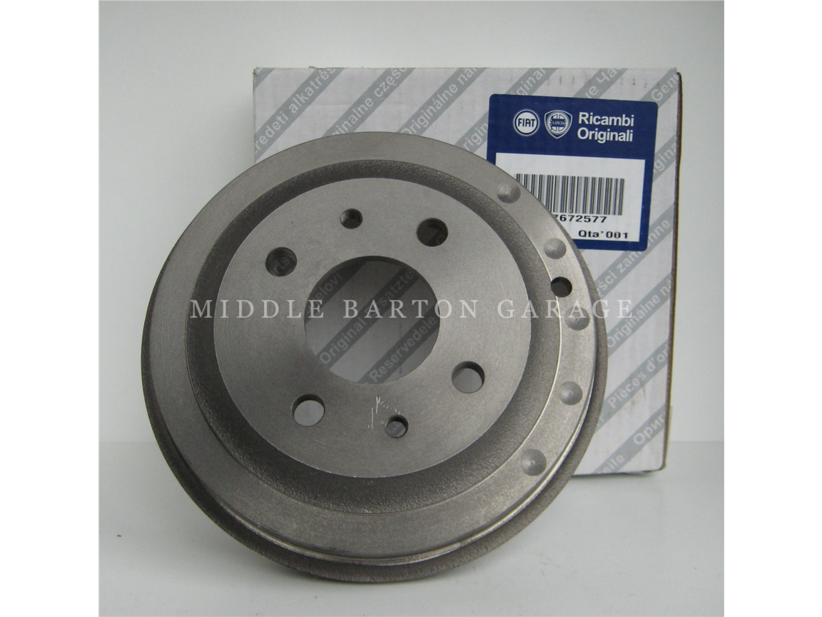 BRAKE DRUMS 126/126P FRONT AND REAR