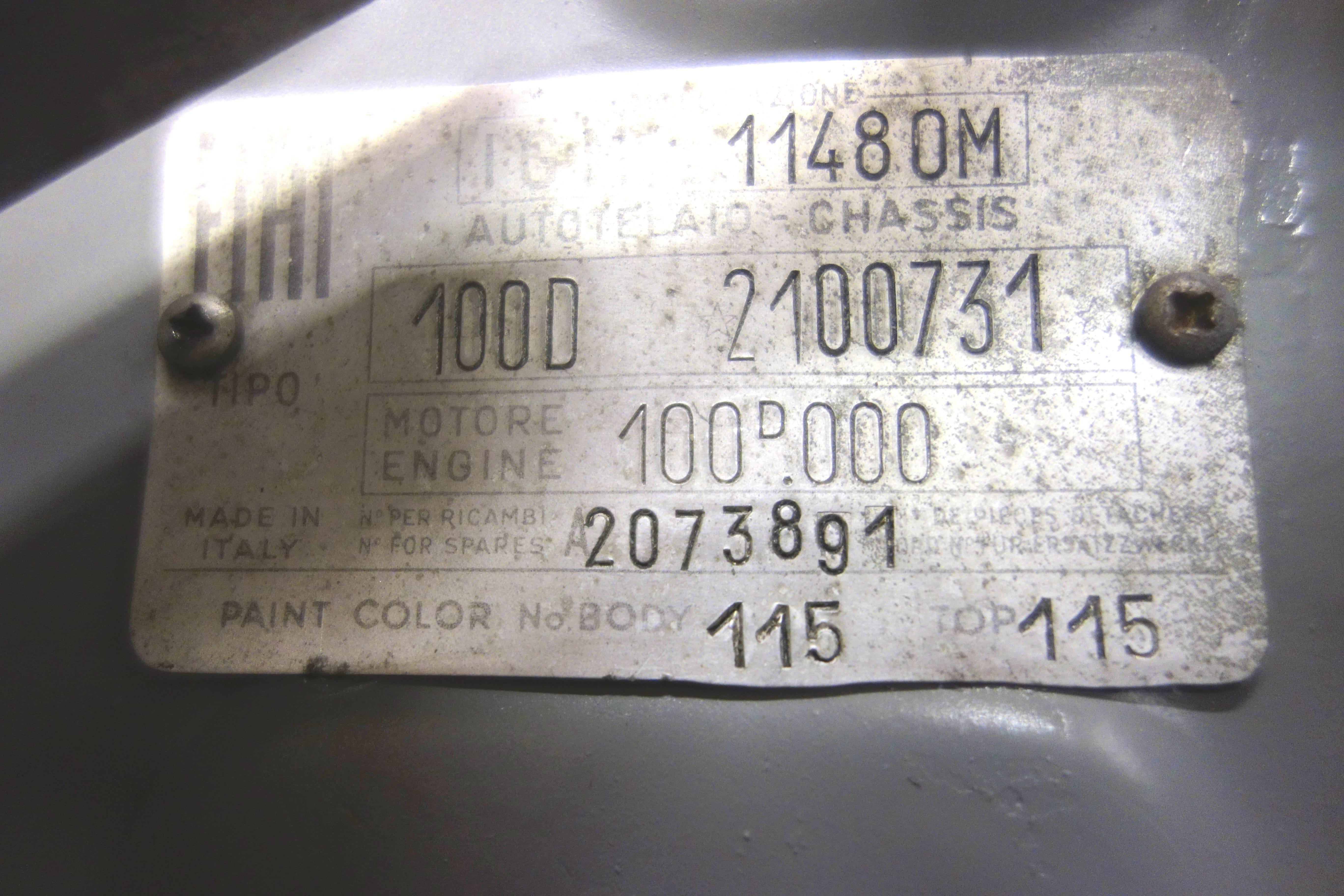 FIAT ABARTH 1050 TC REPLICA