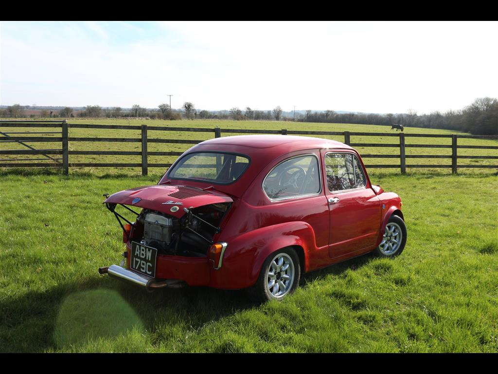 TORNADO FIAT 600 LOTUS | Fiat 500 and Classic Abarth