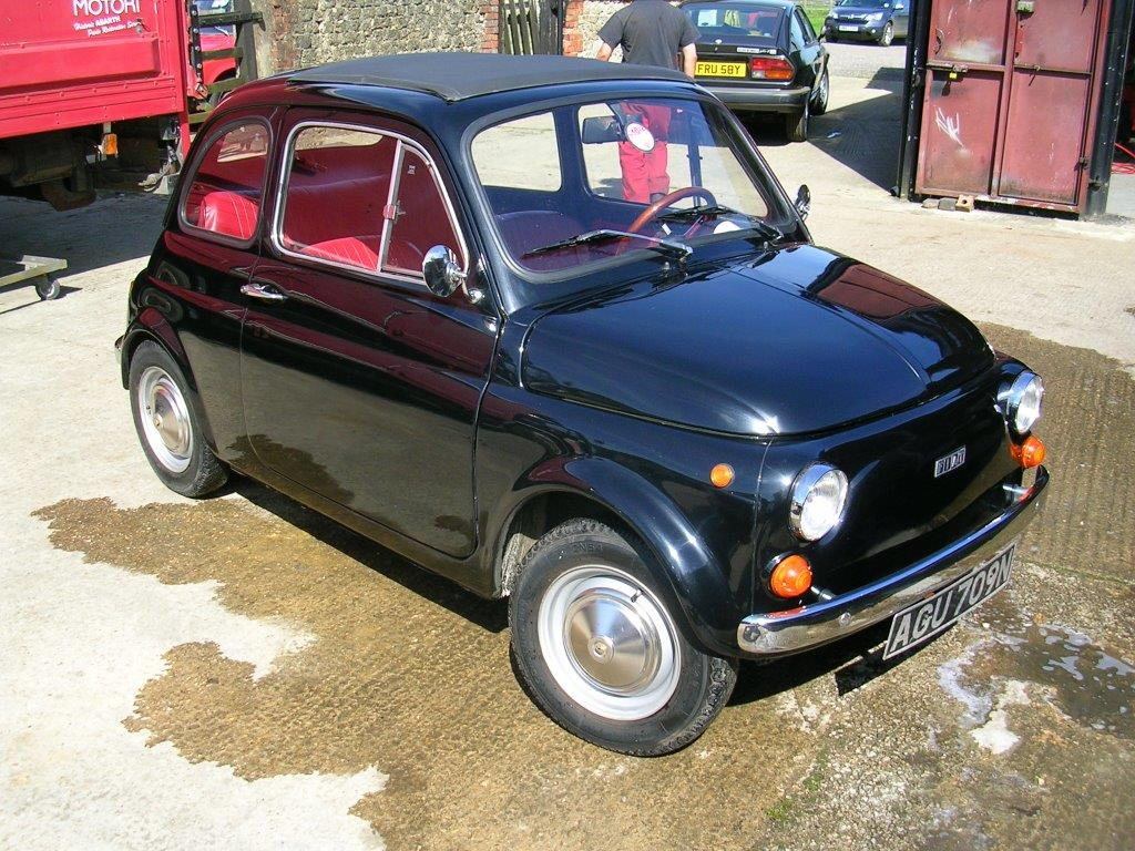 Fiat 500r Fiat 500 And Classic Abarth Specialists Middle Barton Garage